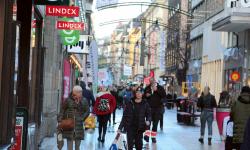 Handeln stabil i Stockholm city