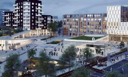 Fem byggherrar blir ankare för Barkarbystaden