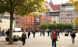 Stadskärna med stor mångfald i Malmö