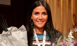 Pegah Abedini blev Årets Unga Fastighetskvinna 2017