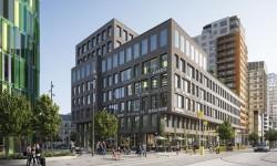 Första hyresgästen klar i Jernhusens nya kontorshus