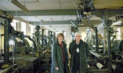 På Göteborgs remfabrik i Gårda har tiden stått stilla
