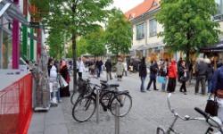 Succé med söndagsöppna butiker i Jönköping