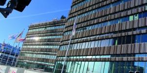 Niagara - Malmö högskolas nya portalbyggnad
