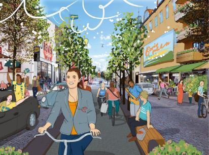 Drömmen om den framtida stadskärnan